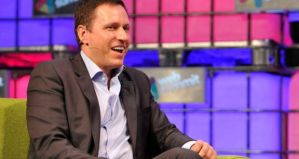 Peter Thiel SweepSouth at Web Summit