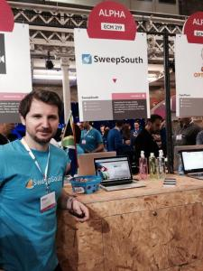 SweepSouth at the Web Summit 2014 - Alen