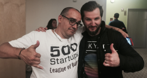 Dave McClure and Alen Ribic