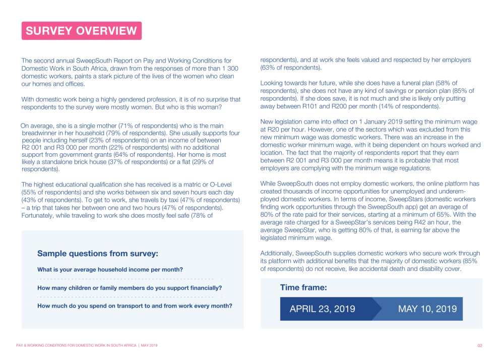 Report on Pay and working conditions for domestic work in SA 2019__Final Report-02